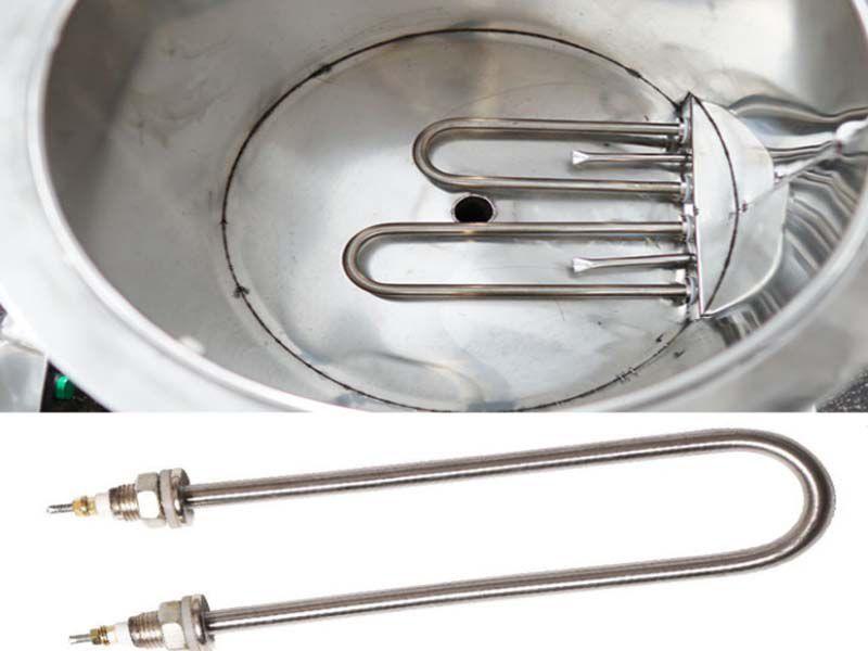 Thanh nhiệt giúp nồi phở sôi nhanh hơn so với bếp than truyền thống