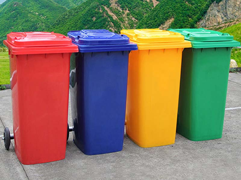 Lợi ích của thùng rác có bánh xe ở nơi công cộng