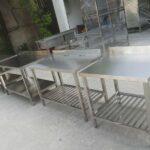 Bàn inox giá rẻ tại Gò Vấp được thiết kế với chất lượng và độ bền cao